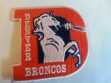 "DENVER BRONCOS Vintage Embroidered Iron On Patch NFL SUPER BOWL 50 CHAMPS 3"" x 3"
