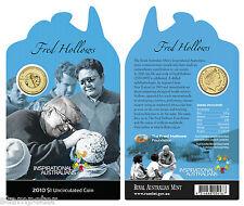 2010 Inspirational Australians - Fred Hollows $1 Uncirculated Coin