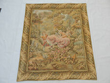 Vintage French Beautiful Romantic Scene Tapestry 120x105cm (T556)