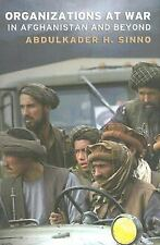 Organizations at War in Afghanistan and Beyond-ExLibrary