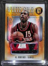 2013-14 Panini Gold Standard White Gold Patch #29 Al Horford No 10 of 10