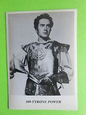 figurines actors stickers akteurs figurine i miti di hollywood 109 tyrone power