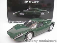 PORSCHE 904 GTS 1964 GREEN 1/18 MINICHAMPS 180067724 NEW