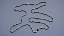 Sterling Silver Ball Chain Necklace - 610 mm / 24 in - 925 import - 10 grams