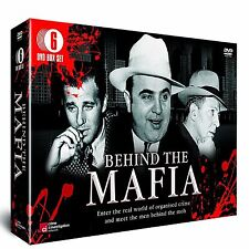 BEHIND THE MAFIA NEW 6 DVD GIFT SET The Mob, Al Capone Scarface, Bugsy Siegel