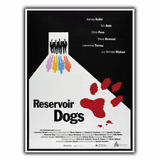 RESERVOIR DOGS TARANTINO METAL SIGN WALL PLAQUE Film Movie Advert poster print