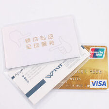 Clear Plastic Card Sets Transparent Card Protector Credit Card Used For ID Card