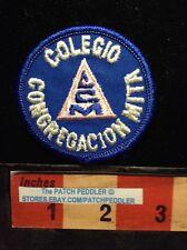 PATCH CONGREGATION MITA SCHOOL COLEGIO CONGREGACION MITA CCM 61G2