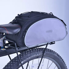 Bicycle Bike Seat Shoulder Bag Rear Tail Rack Pannier Cycling Handbag Pack