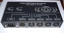 4 way optical isolated DMX splitter amplifier  UK stock