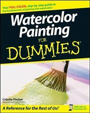 Watercolor Painting For Dummies, Pitcher, Colette, New Book