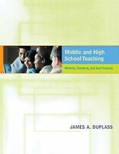 Middle and High School Teaching: Methods, Standards, and Best Practices