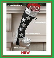 Kiss Christmas shoe boot stocking STAR Paul Stanley autograph signature NEW XMAS