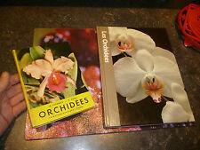 LES ORCHIDEES / Lot de 2 recueils : M Lecoufle H Rose A Skelskey 1956 1979