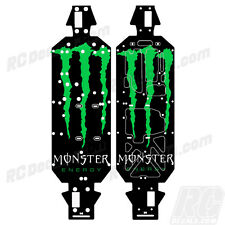 LOSI 5IVE T 4WD TRUCK CHASSIS PROTECTOR WRAP GRAPHIC MONSTER LOSB2540