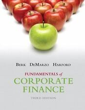 Fundamentals of Corporate Finance (3rd Edition) (Pearson Series in Finance)