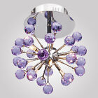 Modern K9 Crystal Chandeliers Ceiling Pendant light Fixture 6 lights Euro Style