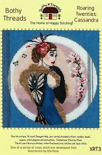 BOTHY THREADS ROARING TWENTIES: CASSANDRA COUNTED CROSS STITCH KIT - NEW 2015