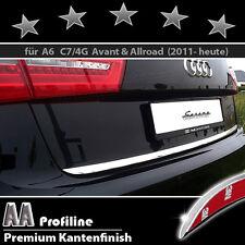 AUDI A6 (C7, Tipo 4G) Avant -3M bordo cromato, Barra cromata, Barra posteriore