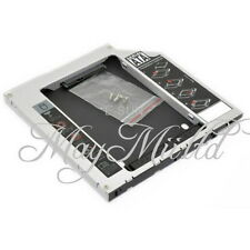 Apple Macbook Pro/Unibody Caddy Optibay 2nd HDD/SSD SATA Replaces DVD-D 9.5mm Q
