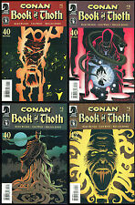Conan Book of Thoth Comic set 1-4 Lot 1 2 3 4 the Barbarian Kelley Jones art REH