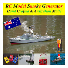 RC Model Boat Smoke Generator 12 Volt with Fluid  Single Outlet V4 S2 Series Two