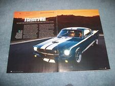 "1965 Ford Mustang Fastback RestoMod Article ""A Coyote's Wail"""