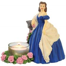 Gone With the Wind Blue Dress Scarlett Tea Light Candle Holder -Westland Gifts