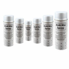 6x Zink Alu Spray Zinkspray Grundierung Korrosionsschutz 400ml ISN