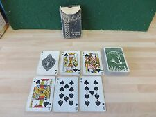 VINTAGE ANDERSONS EDINBURGH LTD, ART DECO playing cards, in very well used con