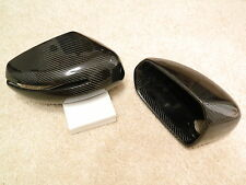 AUDI R8 TT FACELIFT S-LINE Carbon Spiegel Cover Spiegelkappen Mirror Housing