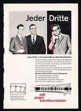 3w1064/ Alte Reklame - von 1960 - Zahncreme BLEND-A-MED