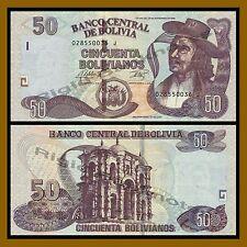 Bolivia 50 Bolivianos, 1986 P-206 Unc