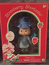 """STRAWBERRY SHORTCAKE 6""""  BLUEBERRY MUFFIN  1980's CLASSIC DOLL COLLECTION NIB"""