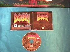 1995 Ultimate Doom - Thy Flesh Consumed by iD * full version CD for Macintosh