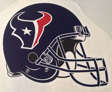 """Houston Texans FATHEAD Official Team Helmet Graphic 21"""" x 16"""" NFL Wall Decal"""