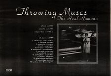 23/2/91 Pgn27 Advert: Throwing Muses the Real Ramona Their New Album 7x11