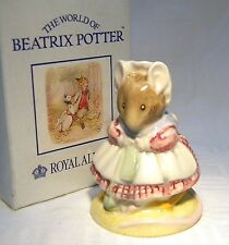 ROYAL ALBERT BEATRIX POTTER BP6A OLD WOMAN  SHOE KNITTING BOXED