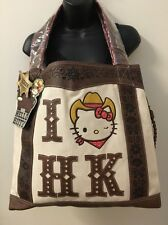 LOUNGEFLY Hello Kitty Tote Western Cowboy 2010 Sheriff HK