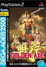 Used PS2 SEGA AGES 2500 Golden AxeJapan Import (Free Shipping)