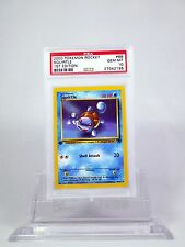 PSA 10 GEM MINT 1st Edition Squirtle Pokemon Team Rocket #68/82