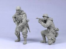 Tahk Tank 1:35 German Infantry SS Kharkov Winter #5 -2 Resin Figures Kit #T35035