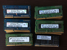 Mémoire DDR3 1 Go SO DIMM 204 broches 1066 MHz PC2-8500 Samsung Hynix Nanya MT