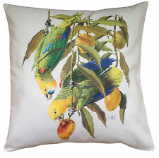 Amazon Tropical Bird Themed Cotton Cushion Cover - Perfect Gift