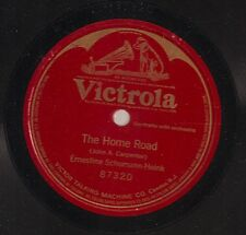 Ernestine Schumann-Heink on 78 rpm Victor 87320: The Home Road