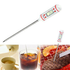 Hot Long Probe Digital Electronic Cooking Thermometer Temperature Meter Feeder