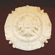 Highly Decorative Regent Ceiling Rose  435mm Dia. Fine Plaster. Handmade in Kent