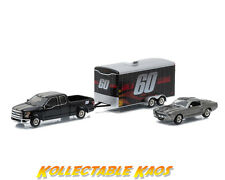 1:64 Greenlight - 2015 Ford F-150 w/Trailer + 1967 Ford Mustang 'Eleanor'