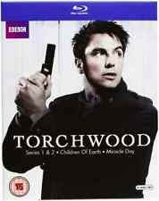 John Barrowman, Eve Myles-Torchwood: Series 1-4  Blu-ray NEW
