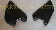 Ducati Monster 1100 evo carbon conductor talón heel Guard pedanie guardie